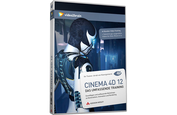 New CINEMA 4D 12 DVD training available now