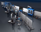 Automatic window production line