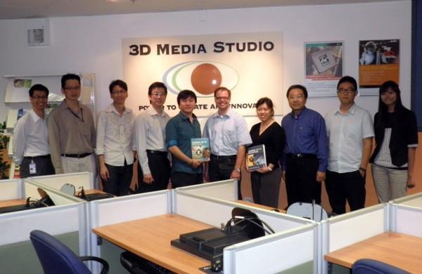 Visiting IDC Asia at Temasek Polytechnic, Singapore